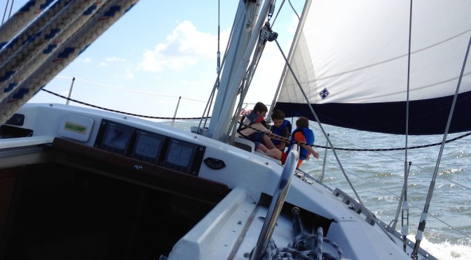 Our First Sail(s)